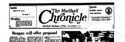 Marshall Chronicle newspaper archives