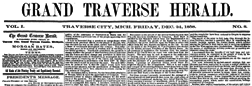 Grand Traverse Herald newspaper archives