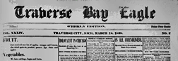Traverse Bay Eagle newspaper archives