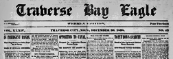Traverse City Bay Eagle newspaper archives