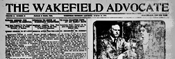 Wakefield Advocate newspaper archives