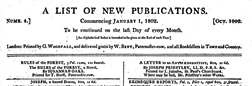 A List Of New Publications newspaper archives