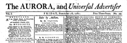 Aurora And Universal Advertiser newspaper archives
