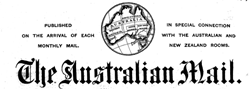 Australian Mail newspaper archives