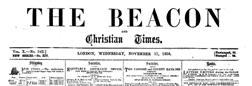 Beacon And Christian Times newspaper archives