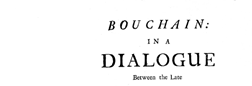 Bouchain In A Dialogue newspaper archives