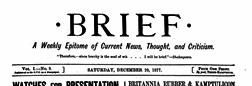 Brief newspaper archives