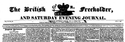 British Freeholder And Evening Journal newspaper archives