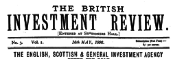 British Investment Review newspaper archives