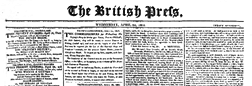 British Press newspaper archives
