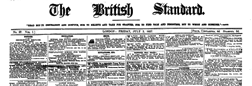 British Standard newspaper archives