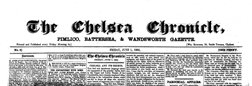 Chelsea Chronicle newspaper archives