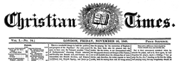 Christian Times newspaper archives