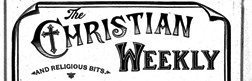 Christian Weekly newspaper archives
