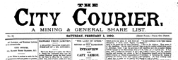 City Courier newspaper archives