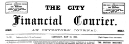 City Financial Courier newspaper archives