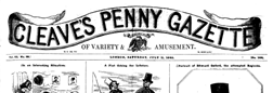 Cleaves Penny Gazette newspaper archives