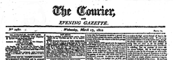 Courier And Evening Gazette newspaper archives