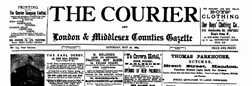 Courier And Middlesex Counties Courier Gazette newspaper archives