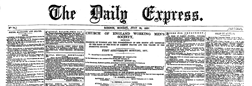 Daily Express newspaper archives