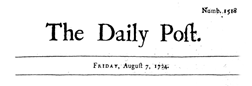 Daily Post newspaper archives