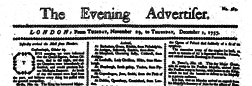 Evening Advertiser newspaper archives