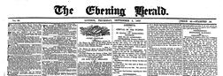 Evening Herald newspaper archives