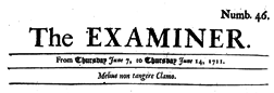 Examiner London Middlesex newspaper archives