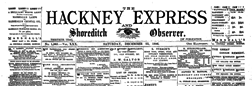 Hackney Express And Shoreditch Observer newspaper archives
