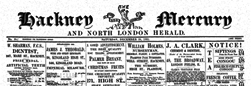 Hackney Mercury And North London Herald newspaper archives
