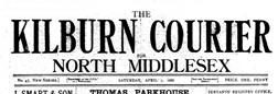 Kilburn Courier newspaper archives