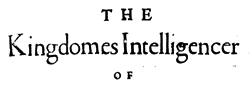 Kingdoms Intelligencer newspaper archives