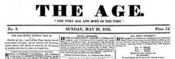 London Age newspaper archives