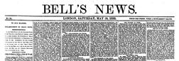London Bells News newspaper archives