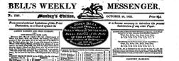 London Bells Weekly Messenger newspaper archives