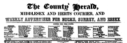 London County Herald newspaper archives