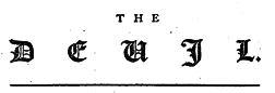 London Devil newspaper archives