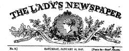 London Ladys Newspaper newspaper archives