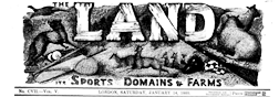 London Land Its Sports Domains And Farms newspaper archives