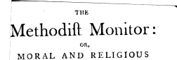 London Methodist Monitor newspaper archives