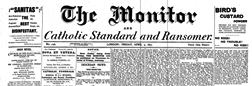 London Monitor newspaper archives