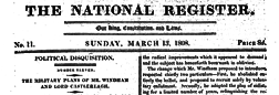 London National Register newspaper archives