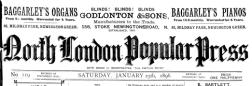 London Novelilts Magazine newspaper archives