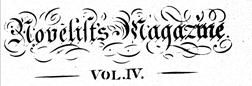 London Novelits Magazine newspaper archives