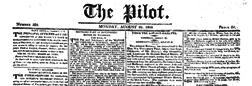 London Pilot newspaper archives