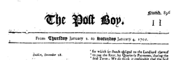 London Post Boy newspaper archives