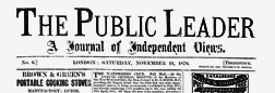 London Public Leader newspaper archives