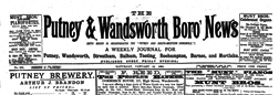 London Putney And Wandsworth Boro News newspaper archives