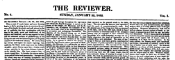 London Reviewer newspaper archives