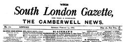 London South Gazette newspaper archives